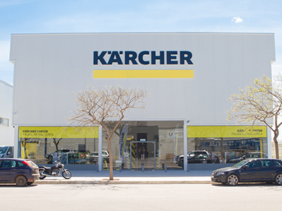 foto noticia Nuevo KÄRCHER CENTER en PALMA DE MALLORCA.